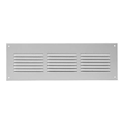 mr3010 - Griglia di ventilazione, 300 x 100 mm, colore: bianco