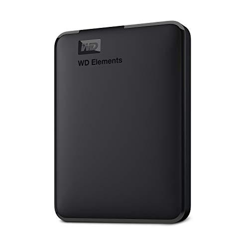 Western Digital Elements WDBU6Y0020BBK-WESN Portable Hard Disk Esterno, USB 3.0, 2 TB