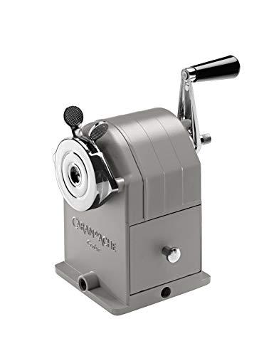 Spitzmaschine für Bleistifte aus Metall - eine hochwertige Geschenkidee zu Weihnachten mit Charakter von Caran d\'Ache