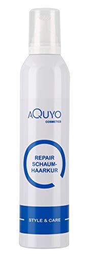 Style & Care Repair Schaumhaarkur für strapaziertes und geschädigtes Haar (300ml) | Haarschaum zur Haarpflege mit Pferdemarkextrakt | Haarkur Schaum ohne Silikone & Parabene