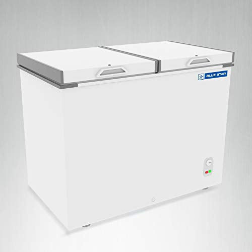 Blue Star CHF500 Double Door Deep Freezer (470 L, White)