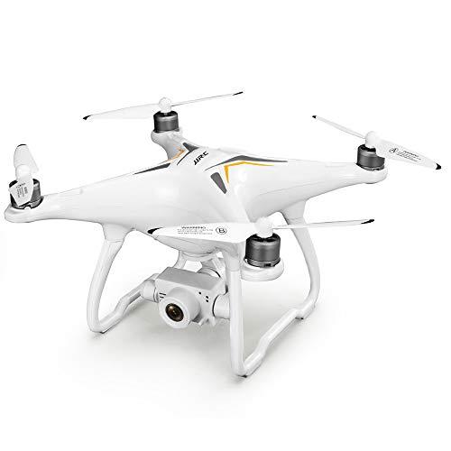 ETbotu Drone JJRC X6 Aircus GPS RC con giunto cardanico PTZ a due assi di stabilizzazione 2 batteria