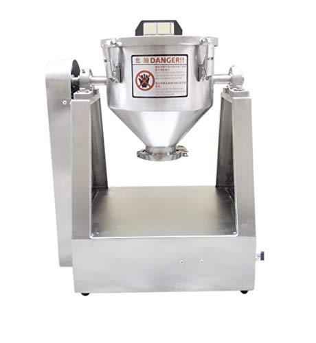 YUCHENGTECH 15L Laboratorio Miscelatore di polvere secca Impastatrice Miscelatore di particelle...
