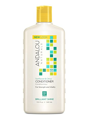 Andalou Naturals Healthy Shine Conditioner Sunflower Citrus 11.5 Ounce