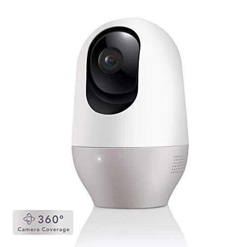 Nooie Telecamera di Sorveglianza WiFi,FHD 1080P videocamera IP Interno Wireless con Visione...