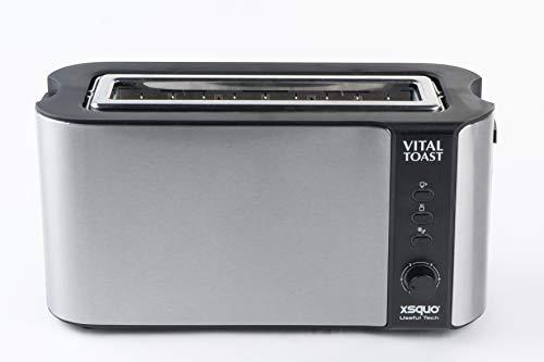 Vital Toast tostapane capacità Due fette slot XL. 1000W di potenza funzione scongelamento E...
