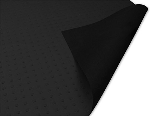 Antirutschmatte Rutschhemmende Matte für Transporter, PKW oder LKW, Strukturprägung auf der Front, extrem robust und strapazierfähig, Verschiedene Größen Farbe 158 X 120 cm