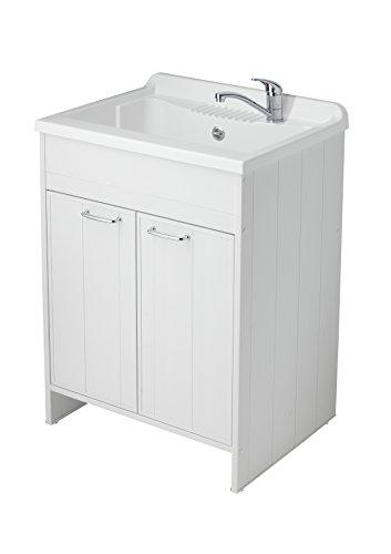 negrari 9002 k meuble avec lavabo en pvc