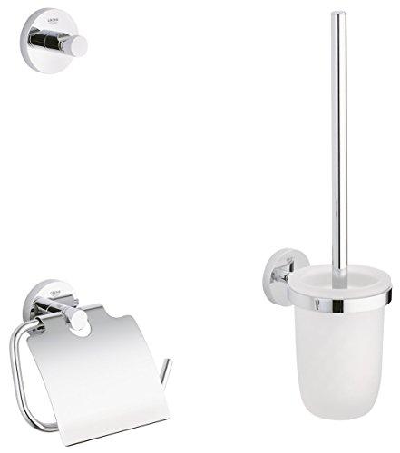 GROHE Essentials | Badaccessoires - WC-Set 3-in-1 | 40407001