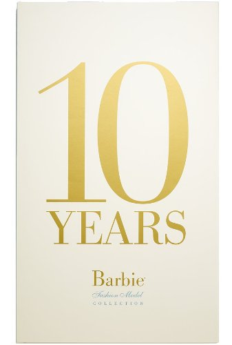 10 YEARS: BARBIE SILKSONE FASHION MODEL COLLECTION BOOK