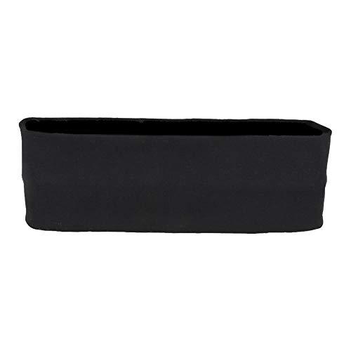 Evogirl Headband Cotton Elastic Stretchable for Multi Purpose, Yoga, Sports, Dance, Headwrap, Hairband Black, Medium, for Women, Girls