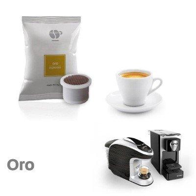 100 capsule caffè LOLLO miscela ORO compatibili Uno System - Maranello - Squesito