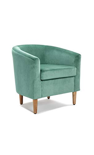 kare design Poltrona Girevole Lounge Surprise Verde