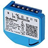 Qubino Flush Dimmer Flush-mounted EU Z-Wave Micro Module plus - Pack of 1 ZMNHDD1