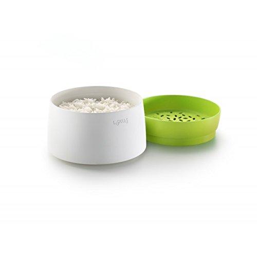 Lékué 0200700V06M017 – Recipiente para cocinar en microondas