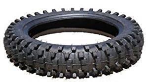 Reifen 80/100-12 Zoll Dirtbike Mantel 2.75-12 mit Enduro Cross Profil Pitbike Cross NEU mit Schlauch Set Cross Hinterreifen 2