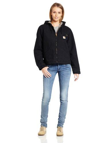Carhartt Womens WJ141 Sandstone Insulated Hooded Jacket