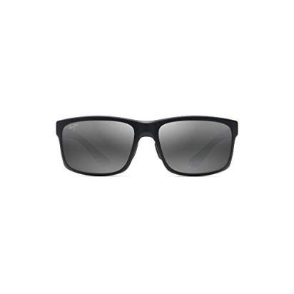 Maui-Jim-MJ439-POKOWAI-ARCH-BLACK-MATTE-439-2M-Gafas-de-sol
