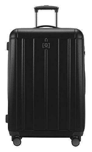 HAUPTSTADTKOFFER - Kotti - 2er Koffer-Set Trolley-Set Rollkoffer Reisekoffer, TSA, (S & L), Schwarz matt - 5