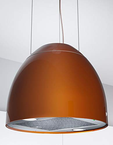 Moderna cappa per isola New Moon, Ø 45 cm, cappa aspirante in rame *569014