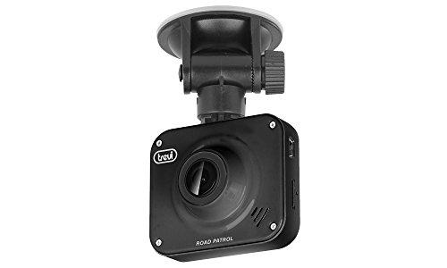 Trevi DV 5000 Dash Cam Telecamera di Sicurezza per Auto, Visione Notturna, Registrazione Automatica con Sensore Rilevamento Urto o Movimento, Facile Installazione