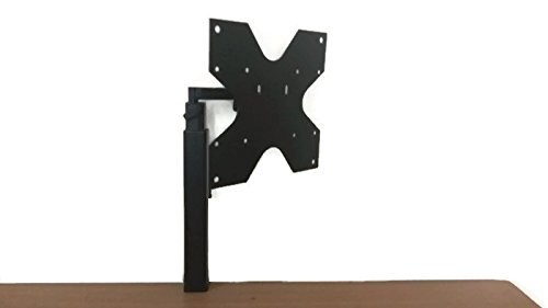 Smart Shelter Universal Clamp Type LCD/LED/Monitor Table Desk Top Mount Stand- for Displays up to 32""