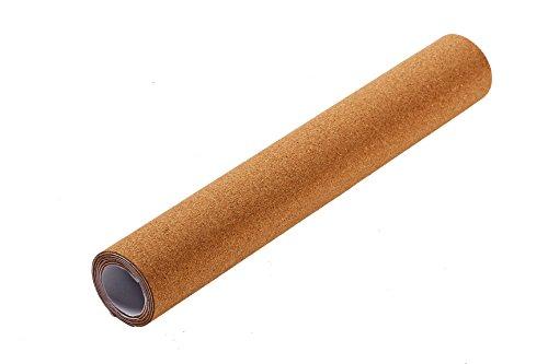 Bacheca in sughero roll–Self-Adhesive Cork Bulletin Board roll per pareti 17.9x 2.4,...