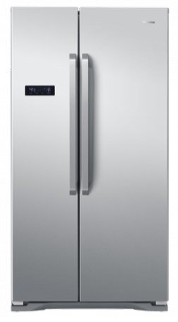 Hisense RS731N4AC1 freestanding 562L A+ Stainless steel side-by-side refrigerator - Side-By-Side...