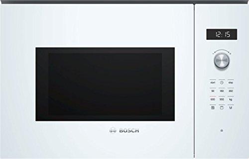 Bosch Serie 6 BEL554MW0 Incasso Microonde con grill 25L 900W Bianco forno a microonde