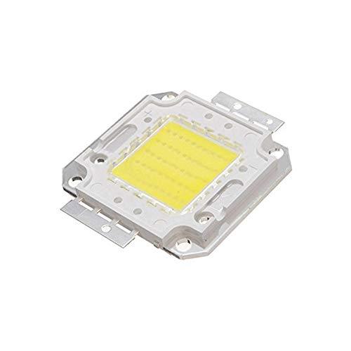 lujiaoshout 50W LED High Power Chip DIY-Birnen-Licht-Lampen-Chip 3800LM 6500K DC32-34v (weiß)