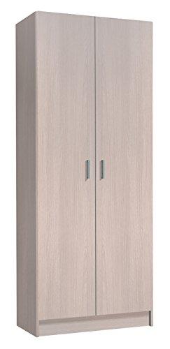 Easy Home Kawai A9 Armadio Multiuso, Legno_Composito, Naturale, 180 X 73 X 37 Cm