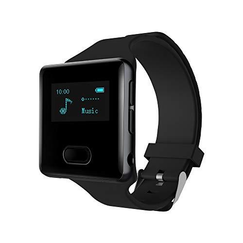 Lettore MP3 Bluetooth 16 gb con Contapassi Lettore MP3 Radio Bluetooth, Running Clip MP3 Player...