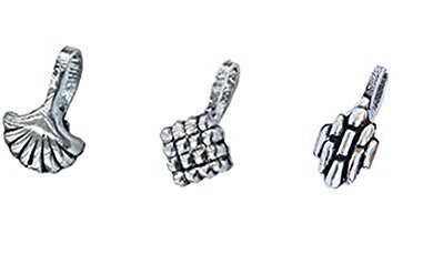 """BEATNIK""""Nose Jewellery"""" Antique Oxidized Silver Tribal Design Stylish Trendy Nose Ring/Nose Stud Nose Clip On Nose Pin Combo Set for Women and Girls(Set of 3) 12"""