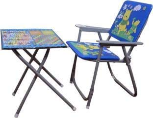 Metro A1 Kids Chair and Table for Study and Dinning (Multicolour) (2-5 Years Child)
