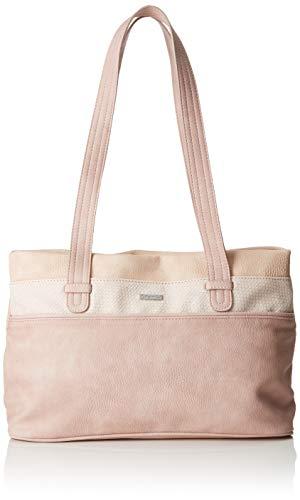 Tamaris Damen Khema Shoulder Bag Schultertasche, Pink (Rose Comb.), 10.5x22x32.5 cm