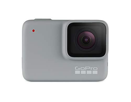 GoPro HERO7 White - fotocamera digitale ad azione impermeabile con touch screen, video HD 1440p,...