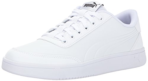 PUMA Men s Court Breaker L Mono Sneaker - surplusxstock 72385b53e