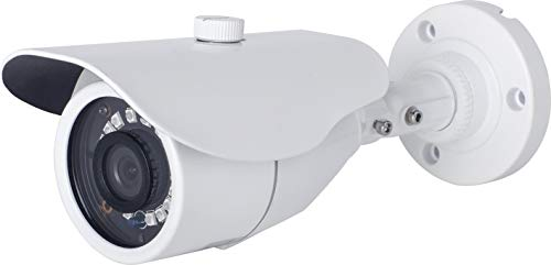 Telecamera Bullet 2MP (1080P) HDoC 2,8 mm-12 mm, zoom motorizzato, IP66, IR 40 m, funzione giorno/notte, TVI, AHD e CVI Output, telecamera di colore bianco