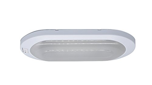 Facon LED 12V 6W luce luminosa pancake interior ceiling Dome Light con interruttore on/off per...