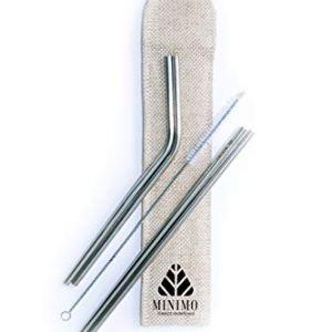Minimo Reusable SS Straws 1  Minimo Reusable SS Straws 31Tx0gnWylL