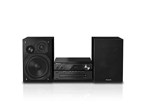 Panasonic SC-PMX94EG-K Micro HiFi System (120 W RMS, Digitalradio DAB+, CD, UKW Radio, Bluetooth, USB, AUX) schwarz