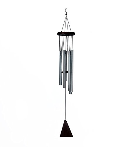 Skynet 7 Pipe Silver Color Wind Chimes for Home, Balcony and Bedroom Positive Energy, Wind Chimes with Good Sound-Silver Wind Chimes