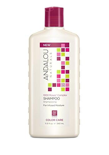 Andalou Naturals 1000 Roses Complex Color Care, Shampoo, 11.5 Fluid Ounce