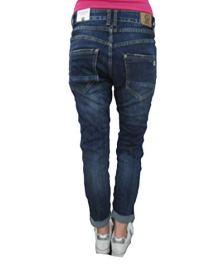 Karostar-by-Lexxury-Denim-Stretch-Baggy-Boyfriend-Jeans-Boyfriend-4-Knpfe-offene-Knopfleiste-weitere-Farben-Dark-Denim-2XL-44