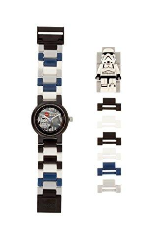 LEGO Star Wars 8021025 Orologio da polso componibile per bambini con cinturino a maglie e minifigure...