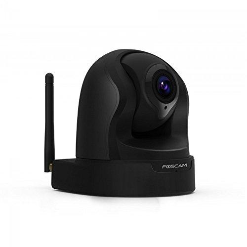 Foscam 'IP-Cam' Indoor Kamera mit 2-Way-Audio System schwarz