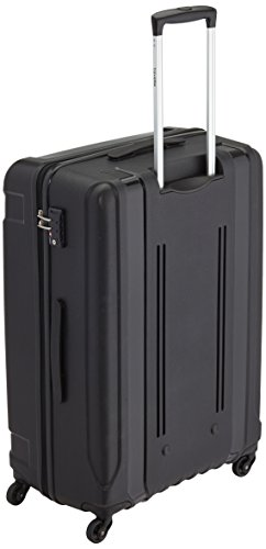 Travelite Koffer Colosso 4-Rad Polypropylen-Trolley L/M, 76 cm 184 Liters Schwarz 71210-01 - 2