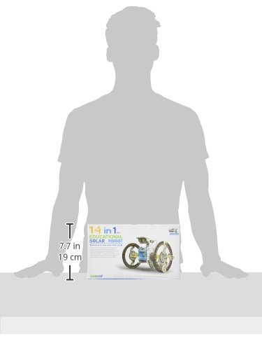 31V6Yys3p L - The Source Wholesale Kit de Robots solares 14 en 1 Educativo