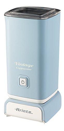 Ariete 2878 Cappuccinatore Vintage - Montalatte per cappuccino, tè, cioccolata calda e fredda,...
