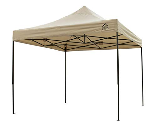 The All Seasons Gazebos is a brand known all over the UK because of their high-quality gazebos at an affordable. This time they introduce the All Seasons Gazebos 3x3m Heavy Duty, Fully Waterproof Pop up Gazebo. Created from heavy duty steel, the push button matt frame is rust resistant and durable, therefore, providing a structurally sound unit. The powder-coated steel frame features support struts, propping up the roof effectively and eliminating the need for wind bars.